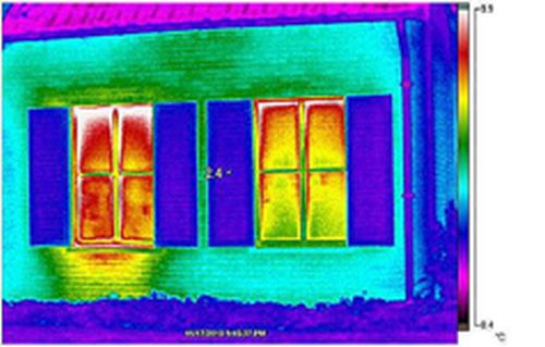 thermografie glas